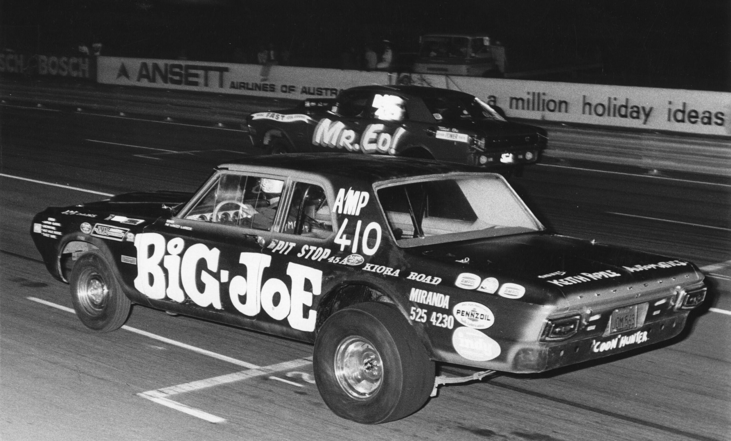 "Blue Meanie ""Big-Joe"" Australian Drag Racing"