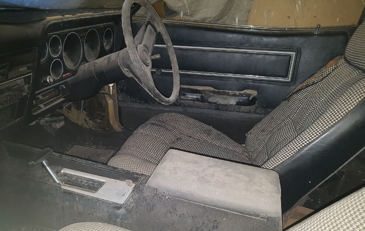 1976 XC Ford Fairmont Hardtop Barn Find