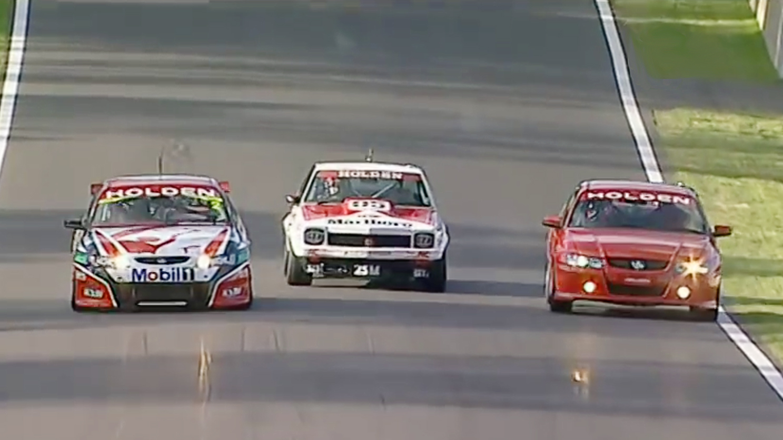 V8 Supercars Holden Speed Comparison
