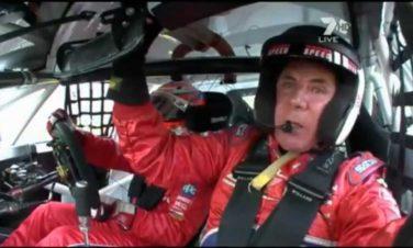 Darrell Waltrip Mount Panorama Circuit Hot Lap