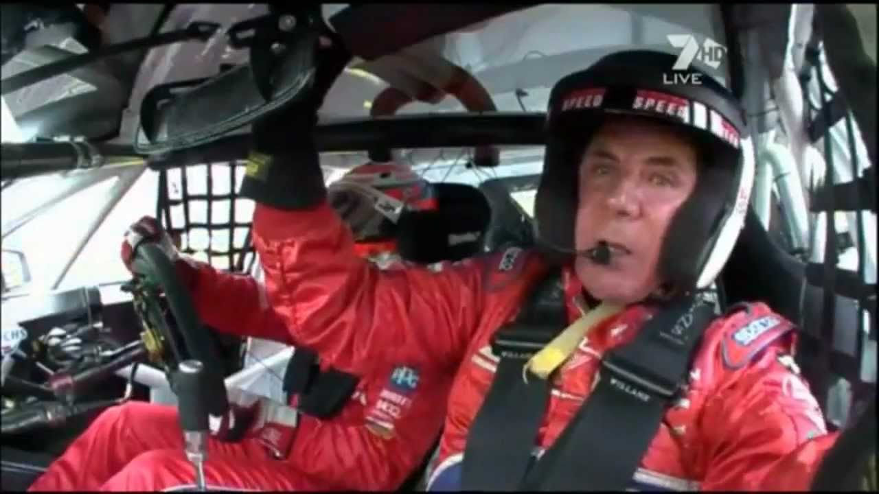 Darrell Waltrip Mount Panorama Circuit Hot Lap